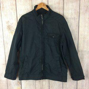 Converse One Star Black Full Zip Jacket Sz XL